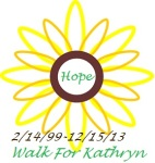 Walk for Kathryn registration logo