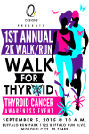 Walk for Thyroid registration logo