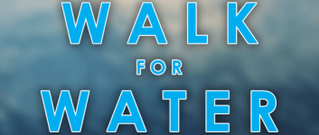 Walk for Water 6K registration logo