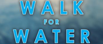 Walk for Water 6K registration logo