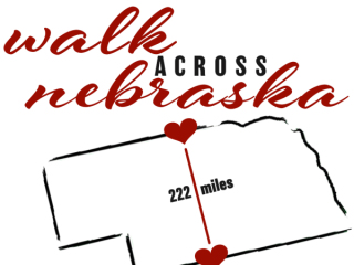 Walk Nebraska Challenge registration logo