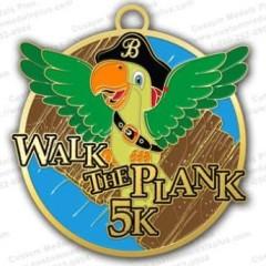 Walk The Plank Virtual 5K registration logo