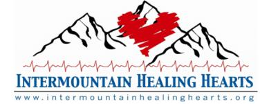 Walk/5k for Healing Hearts registration logo