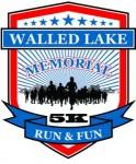 Walled Lake Memorial Day Run/Walk registration logo