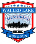 Walled Lake Memorial Day Run/Walk registration logo