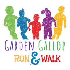 WAME Garden Gallop Run & Walk registration logo