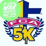 War Pouncey 5k registration logo