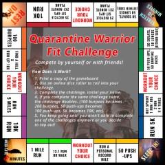 Warrior Fit Challenge registration logo