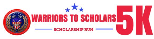 Warriors to Scholars 5k Scholarship Run registration logo