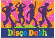 Wasatch Elementary Disco Dash registration logo