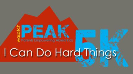 Wasatch PEAK 5K registration logo