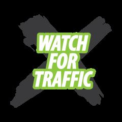 Watch For Traffic 5K Run/Walk  registration logo