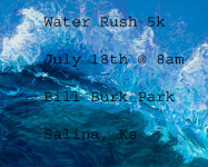 Water Rush 5k registration logo