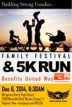 WCC 5K Fun Run & Family Fest registration logo