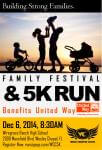WCC 5K Fun Run & Family Fest registration logo