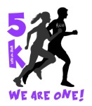 We Are One Run registration logo