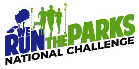 We Run the Parks  - National Challenge registration logo