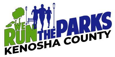 We Run the Parks - Kenosha County registration logo