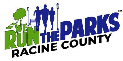 We Run The Parks -  Racine County registration logo