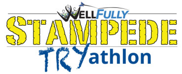 WellFully Stampede TRYathlon registration logo