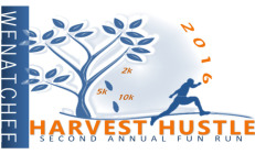 Wenatchee Harvest Hustle registration logo
