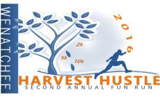 Wenatchee Harvest Hustle registration logo