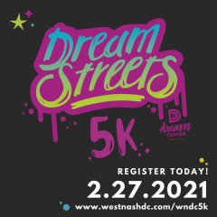 West Nashville Dream Center 5K registration logo
