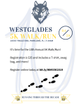 Westglades Middle School registration logo