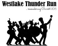 Westlake Thunder Run registration logo
