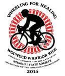 Wheeling For Healing Katy Trail Bike Ride registration logo