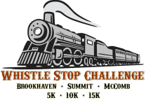 Whistle Stop Challenge- Day 1 registration logo