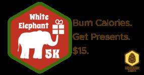 White Elephant 5K registration logo