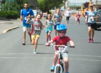 White Salmon SpringFest Fun Run/Walk registration logo