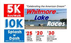 Whitmore Lake Races registration logo