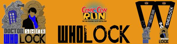 Wholock Virtual Run registration logo