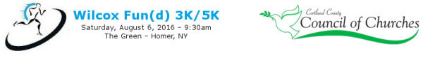 Wilcox Fund 3k/5K Run registration logo