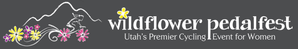 Wildflower Pedalfest registration logo