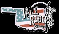 Will Rogers Stampede registration logo