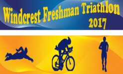 Windcrest Triathlon registration logo