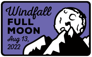 Windfall Full Moon Trail Run registration logo