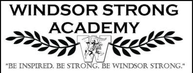 Windsor Strong 5K registration logo