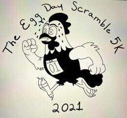 Winlock Egg Day 5k Scramble registration logo