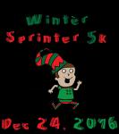 Winter Sprinter 5k registration logo