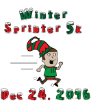 Winter Sprinter 5k registration logo