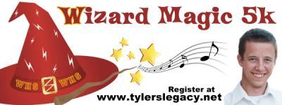 Wizard Magic 5K Fun Run/Walk registration logo