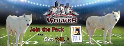 Wolves Fun Run/Walk 5k registration logo