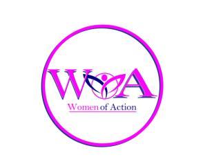 Women Of Action registration logo