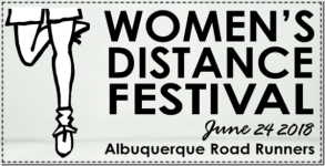 Women's Distance Festival registration logo