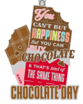 World Chocolate Day 1 Mile, 5K, 10K, 13.1, 26.2 registration logo