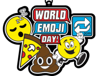 World Emoji Day 1 Mile, 5K, 10K, 13.1, 26.2 registration logo